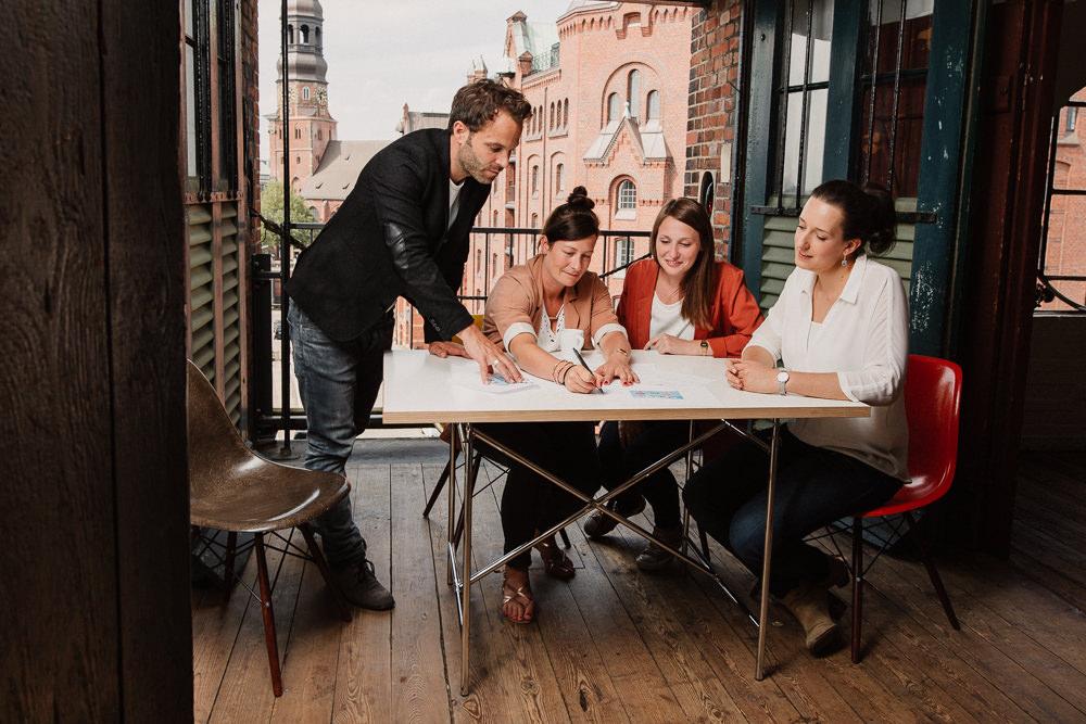 Imagesfotos einer Agentur in der Speicherstadt in Hamburg