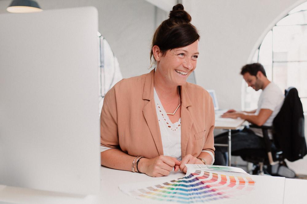 Imagefotos einer kreativen Agentur